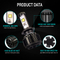 Newest Turbo CREE LED 30W V16 H7 Auto Headlight