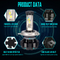 Pass Ce/Emark/DOT/RoHS 40W U2 H4 Auto Lamp LED Car Light