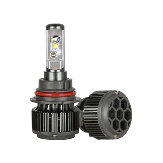 LED headlight with high quality convex chips auto led lights